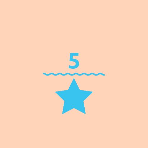 GOOD 5-star rating